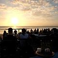 金巴蘭海灘夕陽