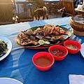 海鮮BBQ大餐上桌