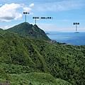 眺望雞籠山、雷霆峰、基隆嶼