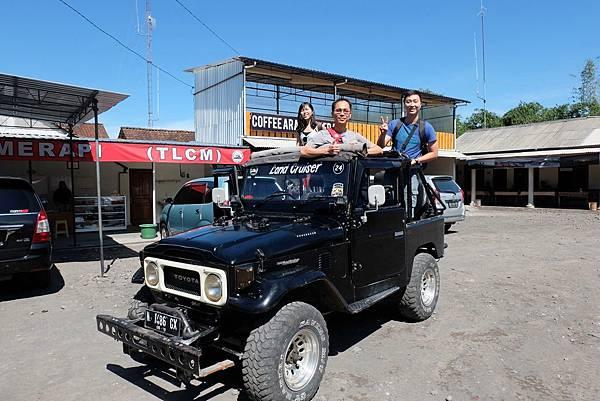 默拉皮火山吉普車體驗