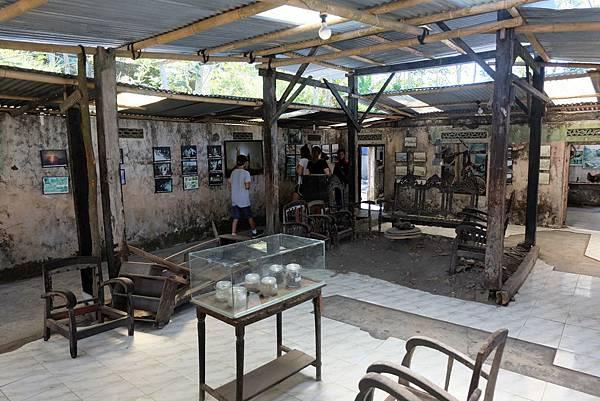 默拉皮火山噴發災難紀念館