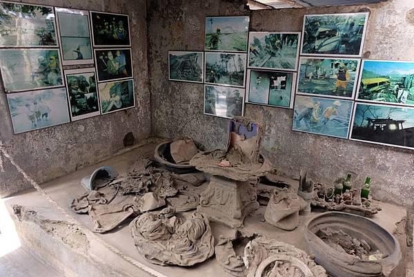 岩漿殘骸中挖掘出的日常用品