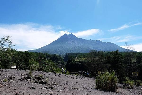 眺望默拉皮火山