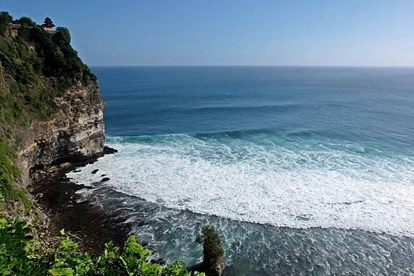 烏魯瓦圖斷崖海天一線風景