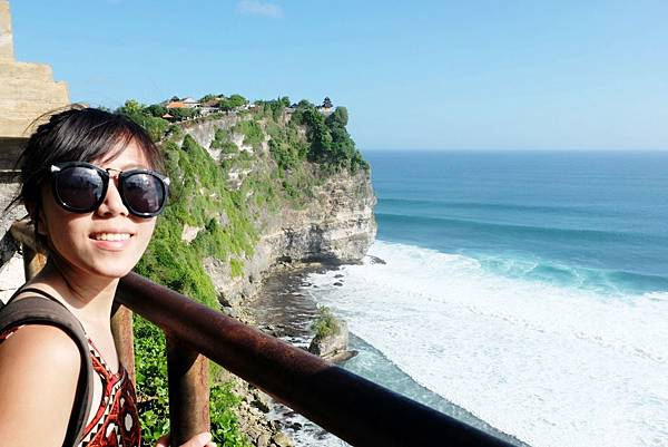 烏魯瓦圖神廟與斷崖留影