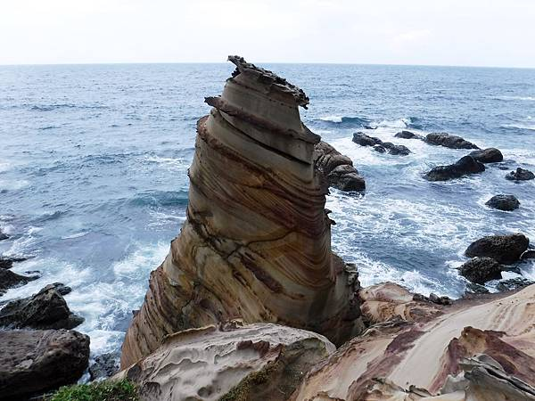 南雅奇岩「霜淇淋岩」