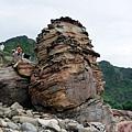 南雅奇岩「主岩」側面