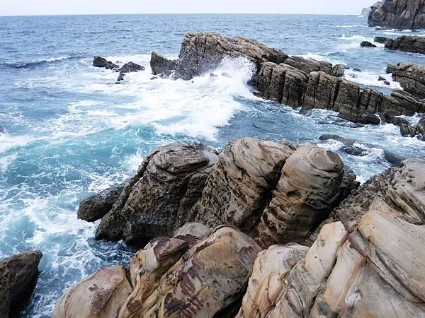 南雅奇岩海岸波濤