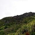 眺望劍龍稜岩脈