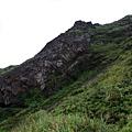小錐麓崖壁一景