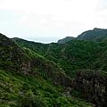 小錐麓上俯瞰半屏溪河谷