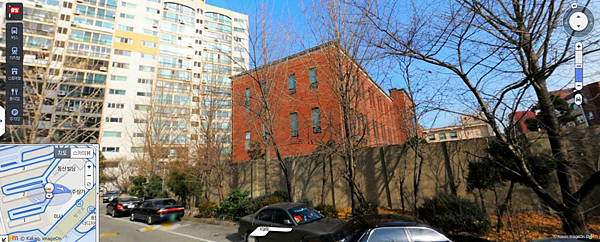 Daum街景圖:預科拆除前紅磚建築