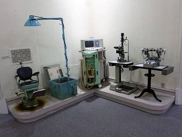 展覽戰後儀器
