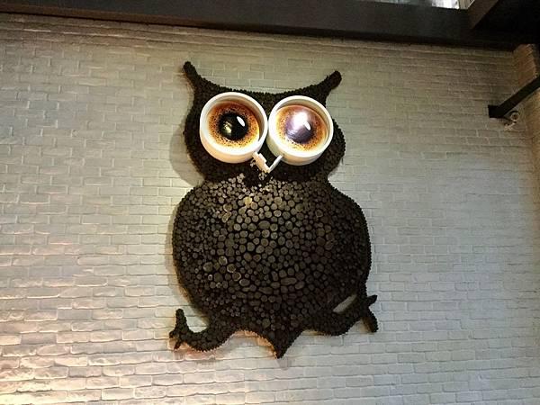 咖咖加的象徵-貓頭鷹