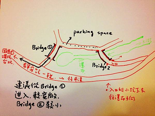 蚯蚓坑峽谷地圖(Beatrix繪製)