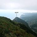基隆山往東看雷霆峰