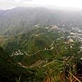「台陽4號基石」俯瞰金瓜石