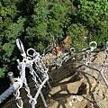 俯瞰孝子山登頂之路