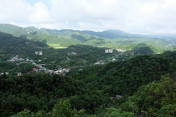 普陀山眺望平溪風景