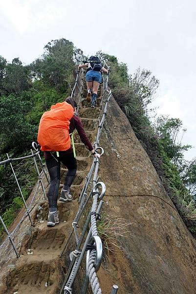 即將登頂普陀山