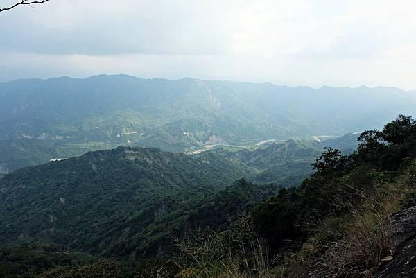 後堀溪谷及南化、甲仙界山