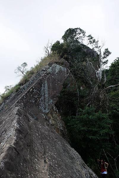 獵鷹尖岩頂