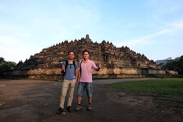 造訪印尼日惹婆羅浮屠