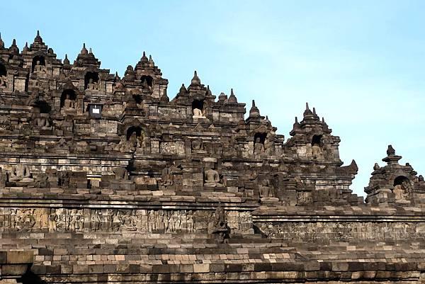 婆羅浮屠塔身石刻浮雕