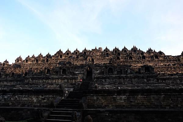 婆羅浮屠塔身各層