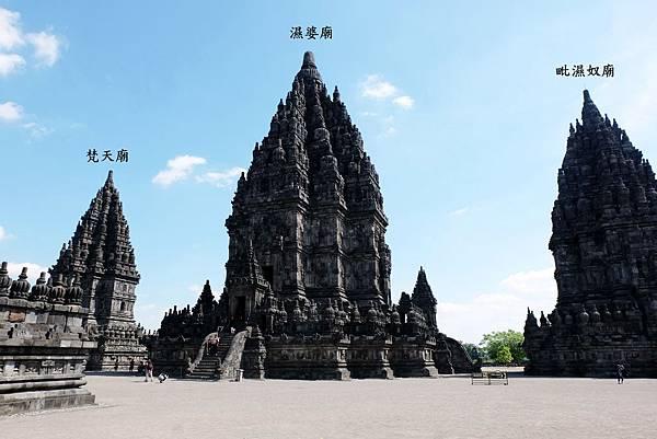 普蘭巴南內院三大主神廟