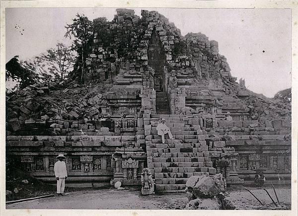 西元1893年所拍攝普蘭巴南濕婆廟照片