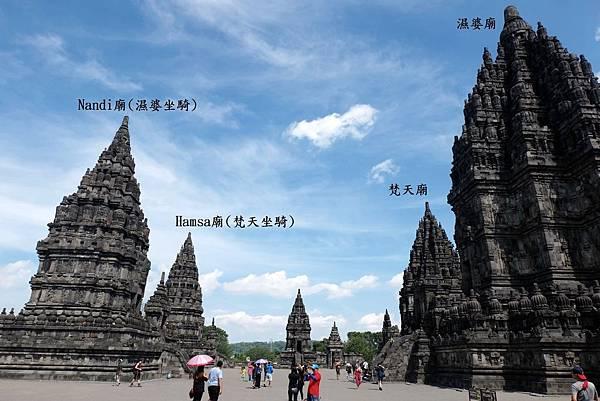 主神廟與坐騎廟互相對立