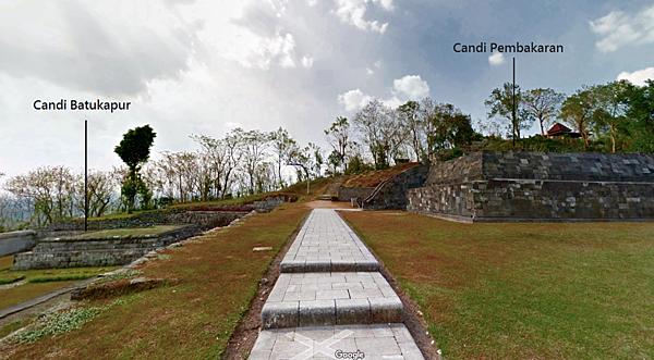 Candi Batukapur(白色石頭廟)&Candi Pembakaran(火葬場廟)