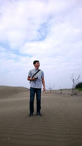 置身頂頭額沙洲