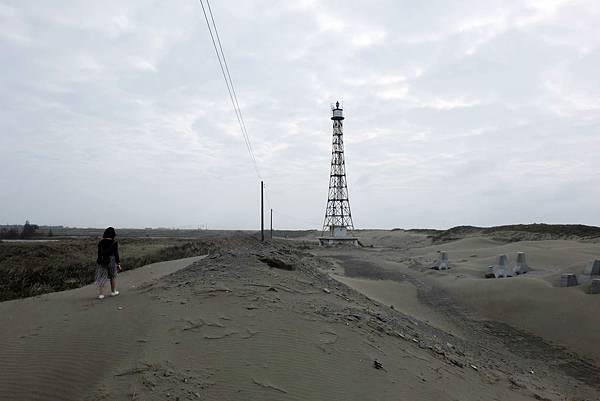 踏沙前進國聖港燈塔