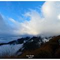 天空雲海逐漸散開