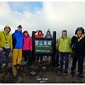 雪山東峰三角點(H3201m)合影