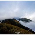 雪山東峰往西望雪山主峰方向