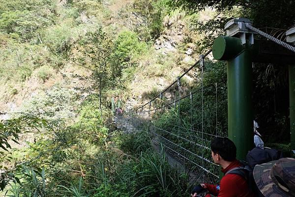 雲龍吊橋東端