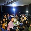 達茂林露營聚餐合影