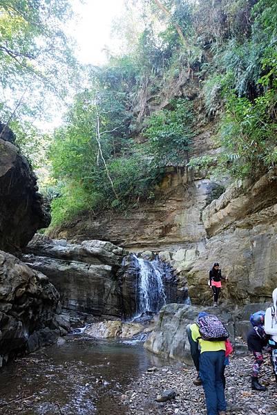 白雲仙谷瀑布