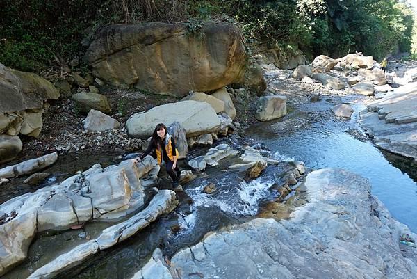 鹽桑坑溪上游溯溪