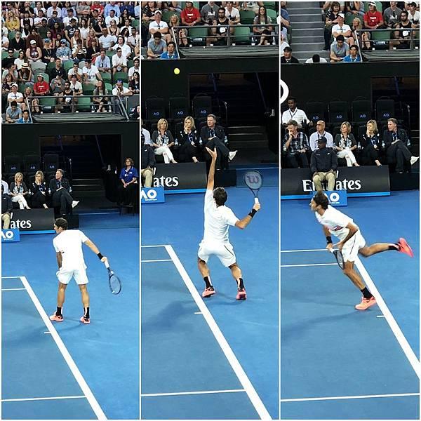 Rod Laver Arena@Roger Federer