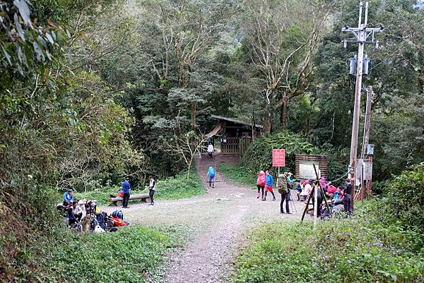 舊登山口(0K,H1550m)