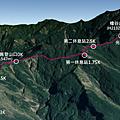 北大武第一新登山口-檜谷山莊GPS地圖