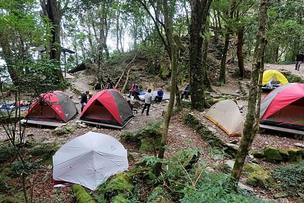 檜谷山莊營地