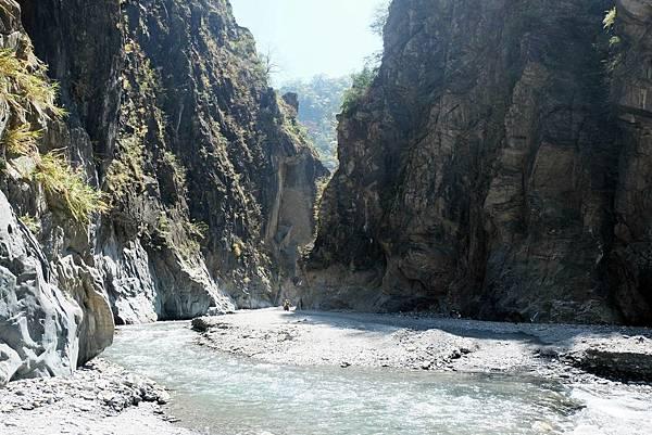 隘寮北溪河谷風景