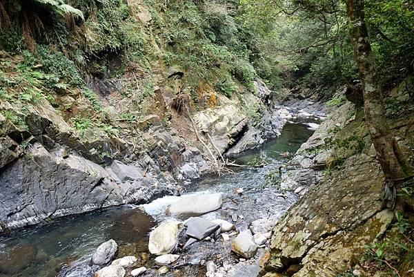 三光溪下游方向