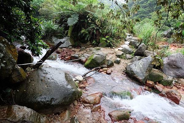 磺溪匯流處