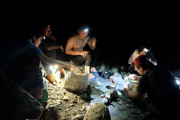 露營野炊晚餐